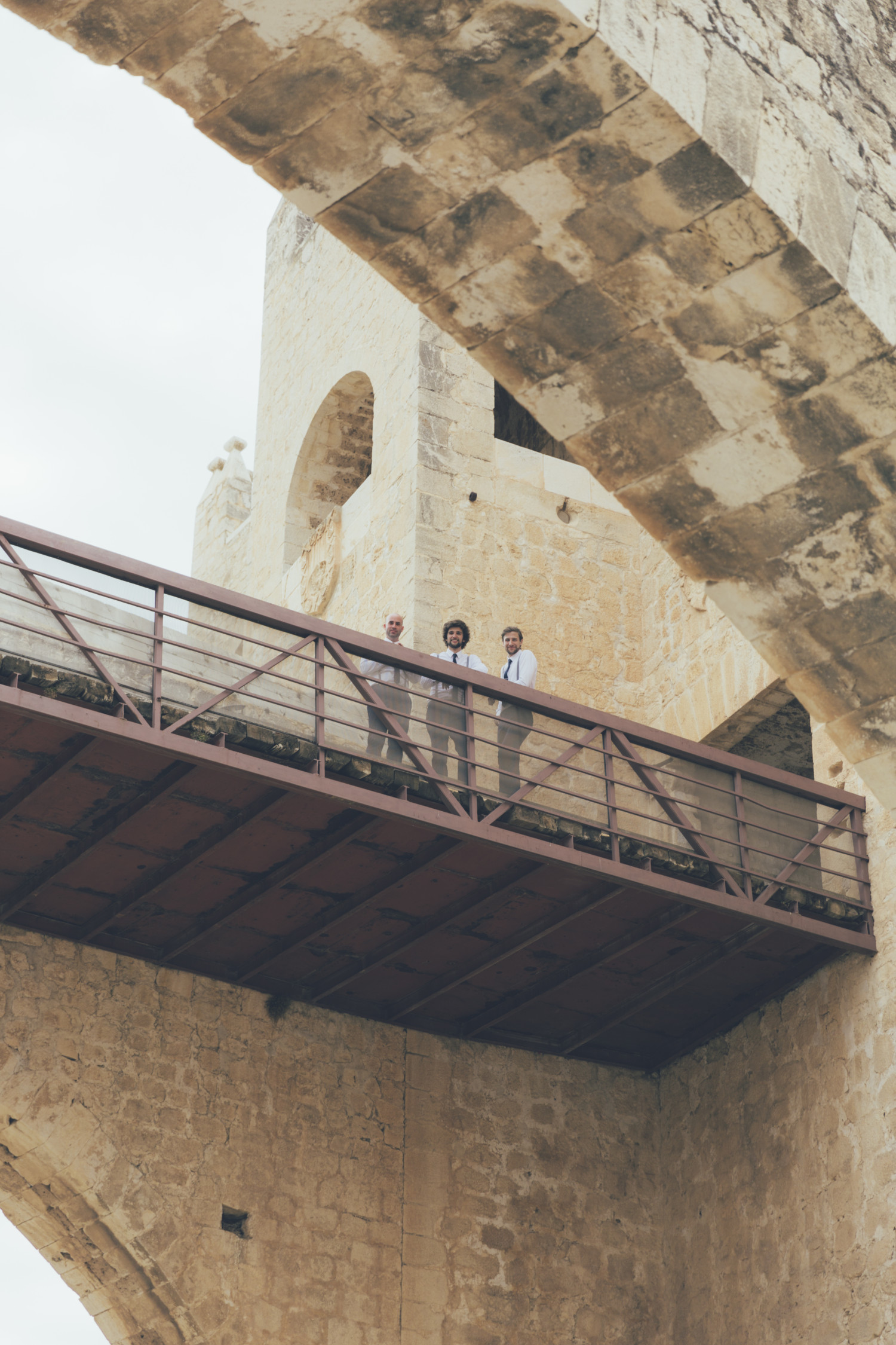 UK Destination wedding photographer castle wedding spain