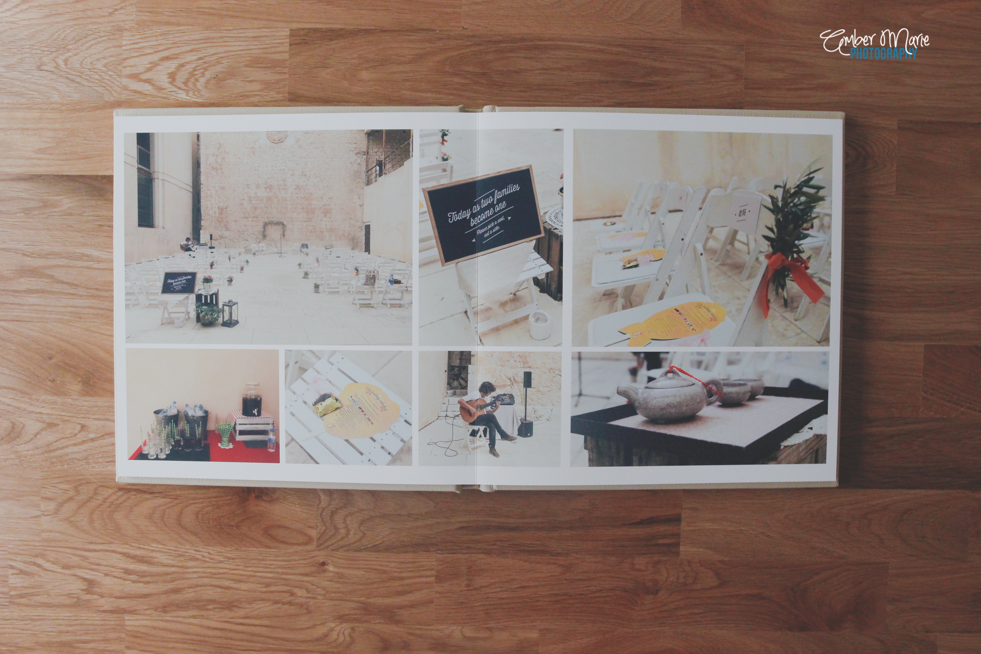 Wedding albums by quirky wedding photographers leeds