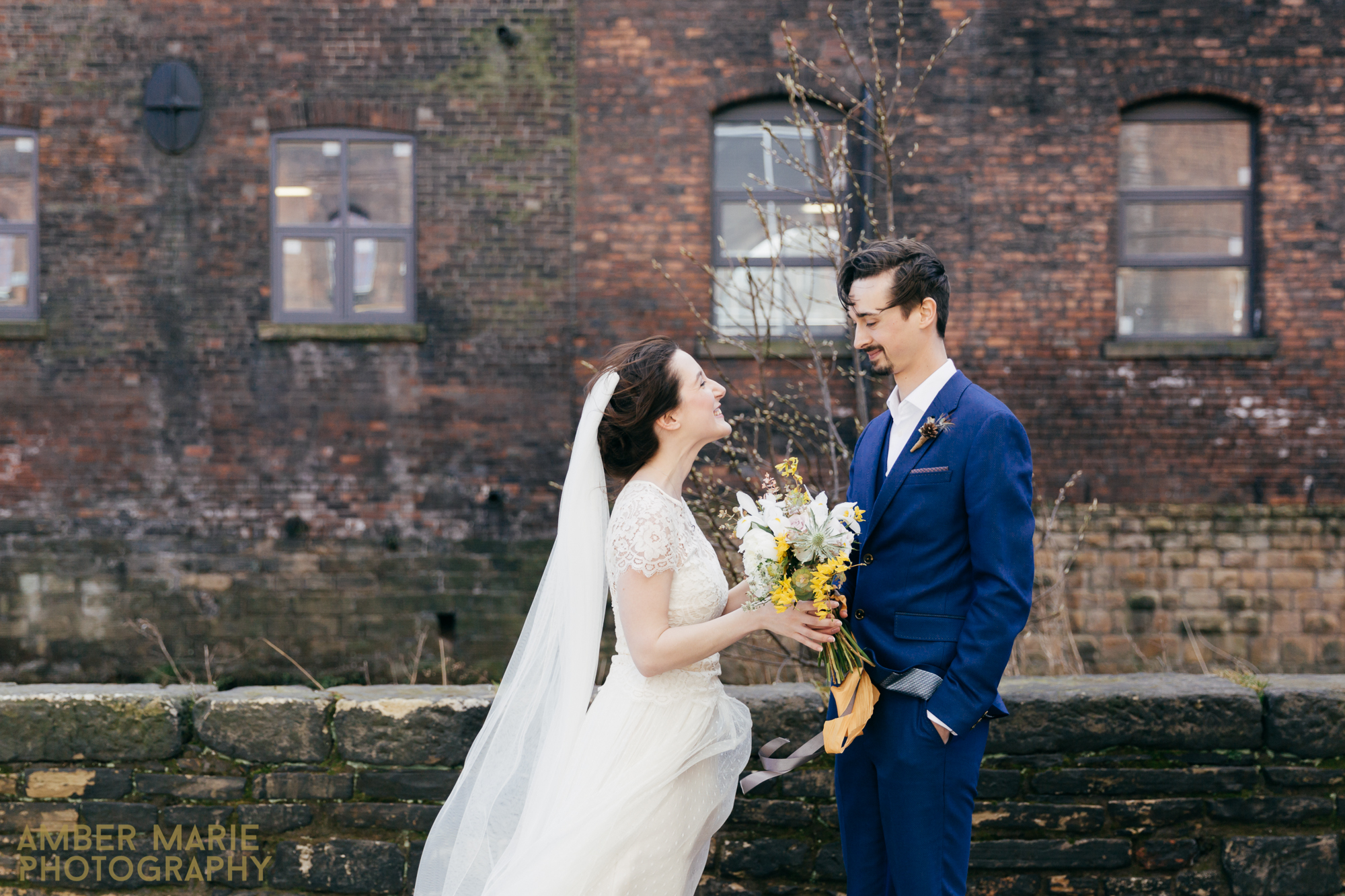 creative and quirky wedding photography leeds