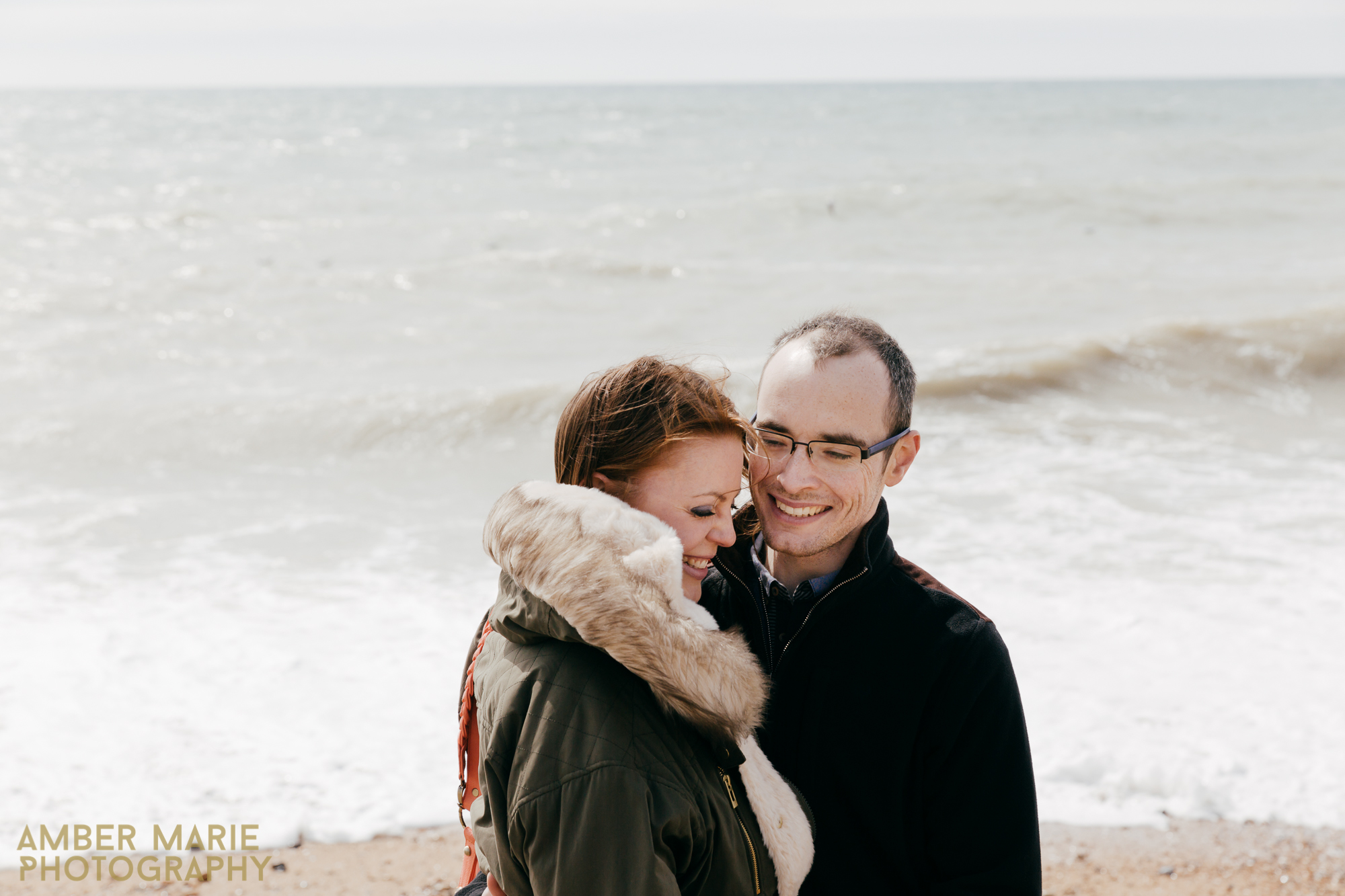 relaxed engagement shoot in brighton by leeds wedding photographer