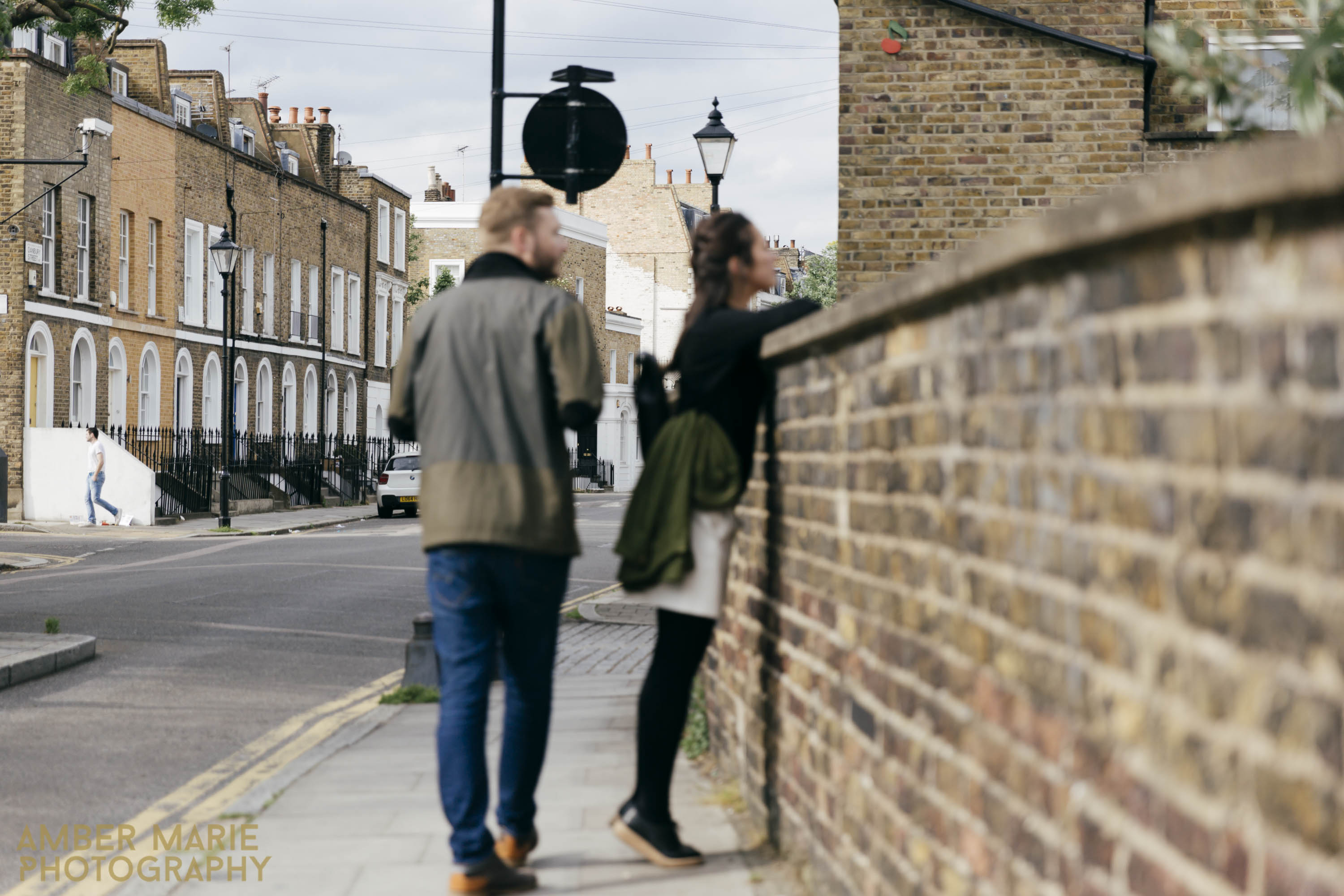 Creative London Wedding Photography Islington engagement photos
