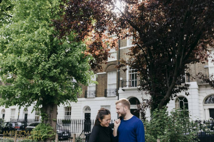 Islington Engagement Shoot –  Victoria & Josh – London Pre wedding photography