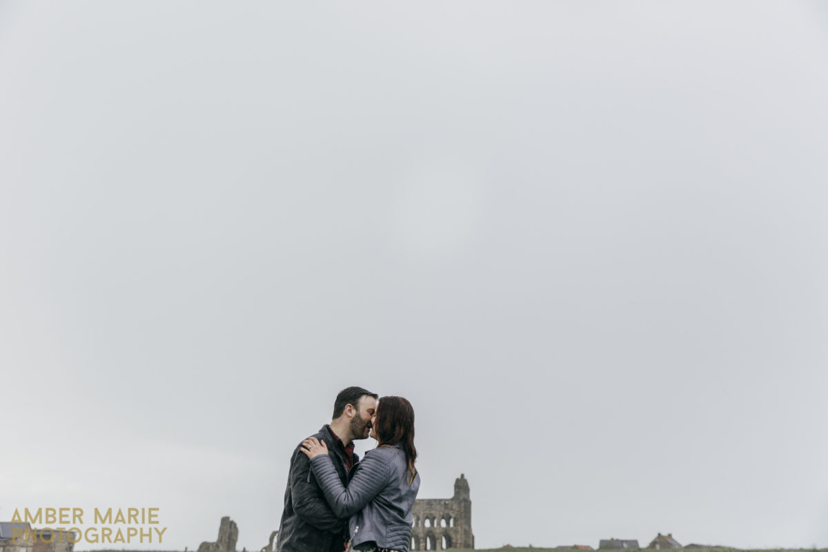 Marie & Nigel's Whitby Engagement Shoot – Yorkshire pre wedding photography