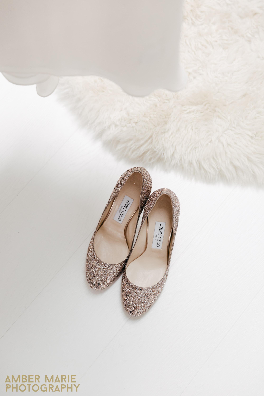 Jimmy choo wedding shoes Creative London wedding photographers