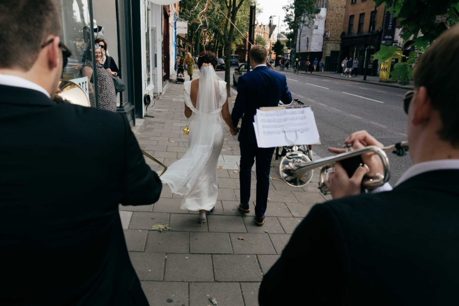 Creative Islington Town Hall Wedding Photography