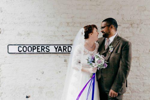 Vintage wedding Islington London