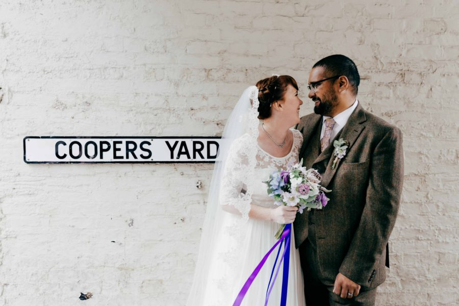 Amanda & Richard's vintage Islington Wedding
