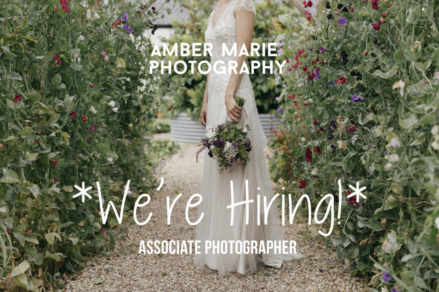 We are hiring! Associate photographer – Creative Wedding Photographers Yorkshire