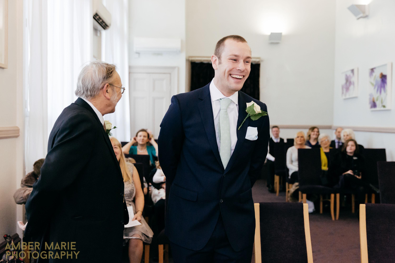 Creative Yorkshire Wedding Photographer - Leeds Town Hall Wedding