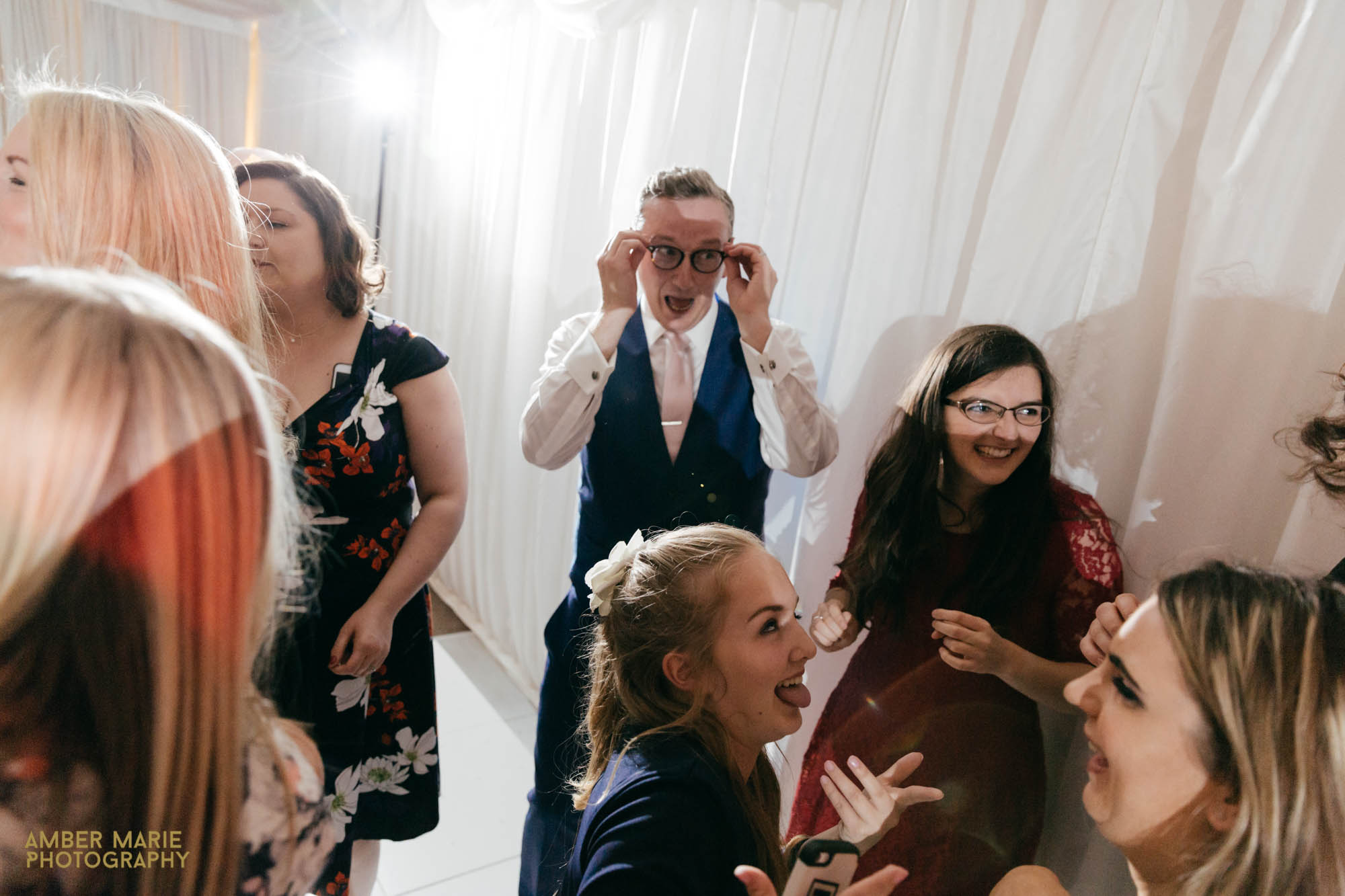 fun Gloucestershire wedding photographer