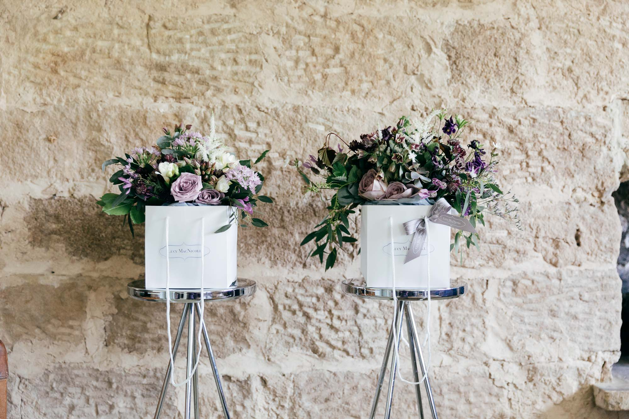Rustic Wedding Flowers by Creative Gloucestershire Wedding Photographer