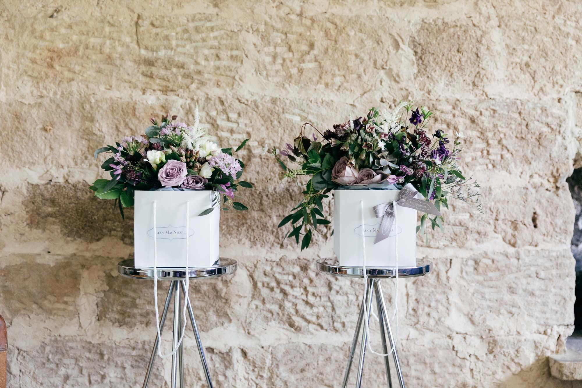 Rustic Wedding Flowers by Creative Gloucestershire Wedding Photographer