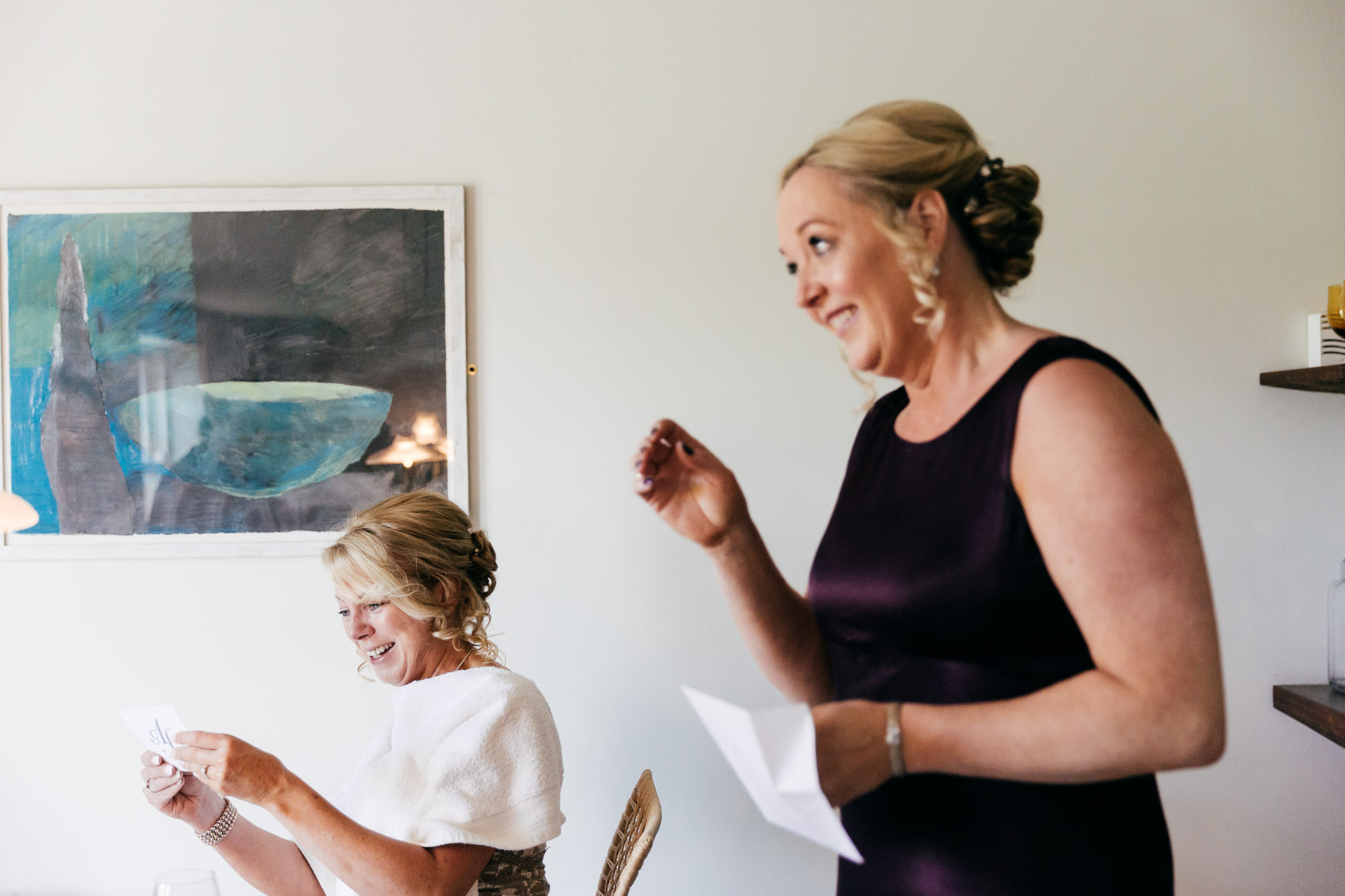 Joan & Andrew's natural wedding photography by Gloucestershire Wedding Photographer