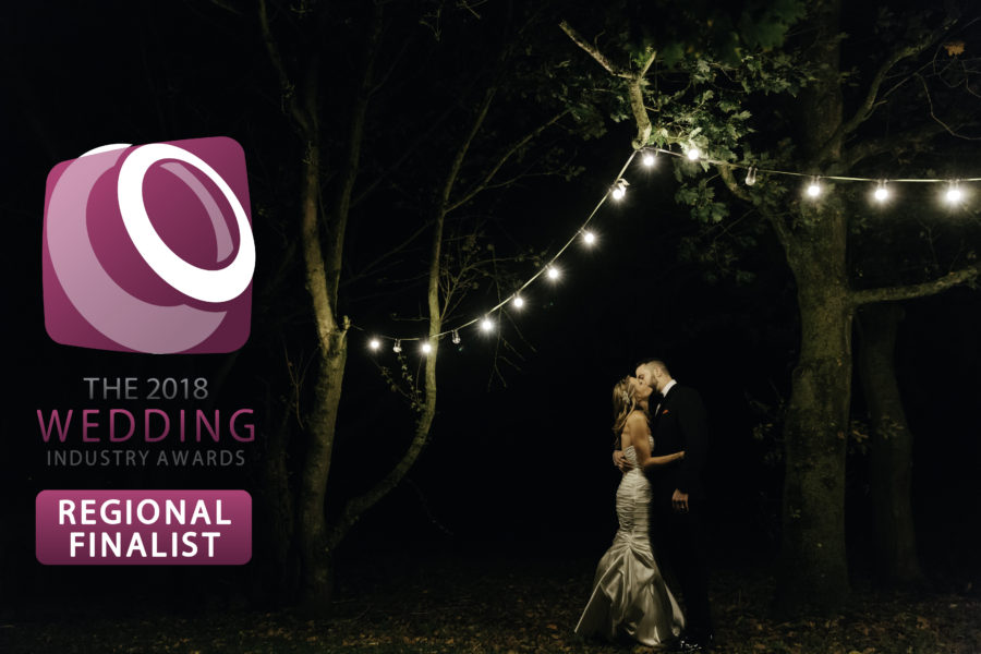 Regional Finalist for Best South West Wedding Photographer!