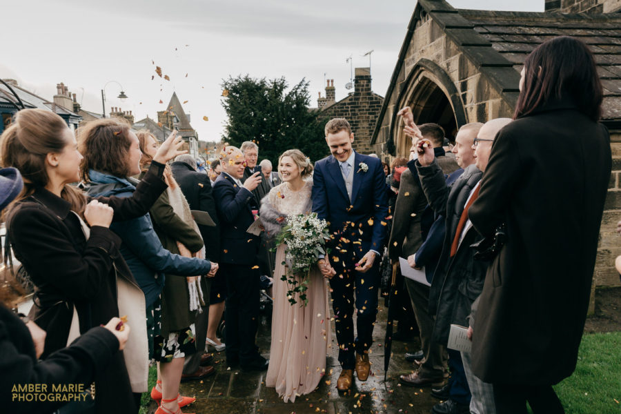 Kirsty & David's Winter Wedding