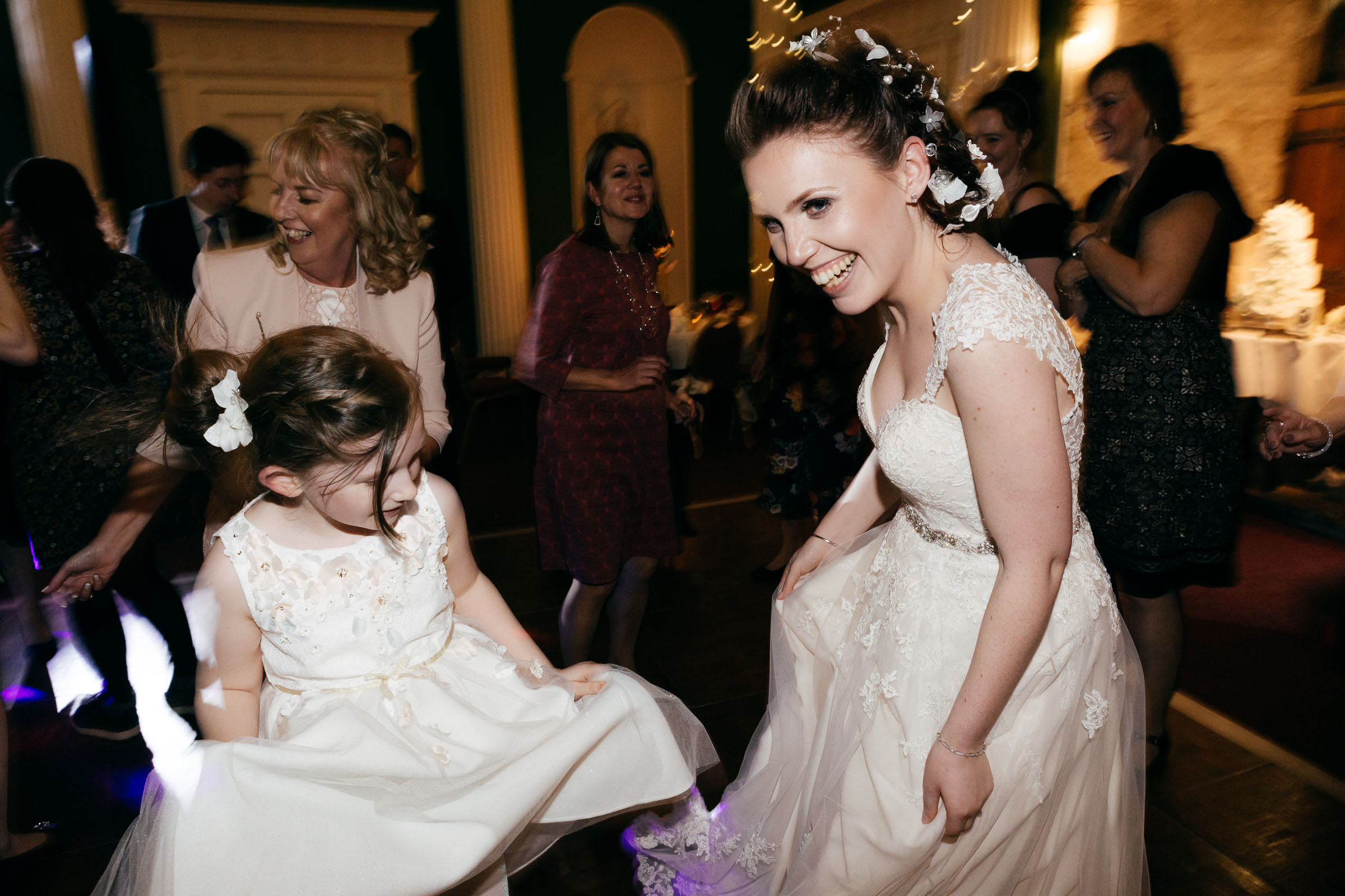 Hazlewood Castle Wedding