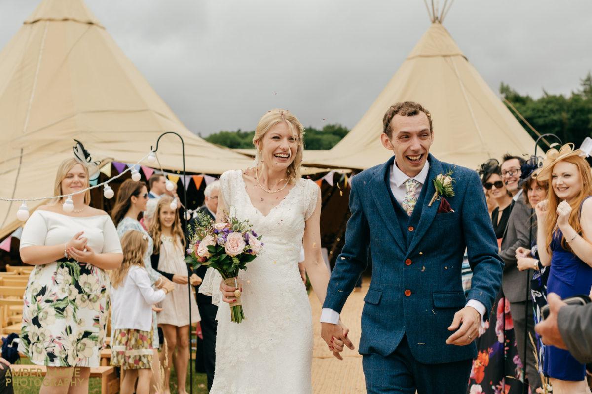 Emma & Rob's Tipi Wedding