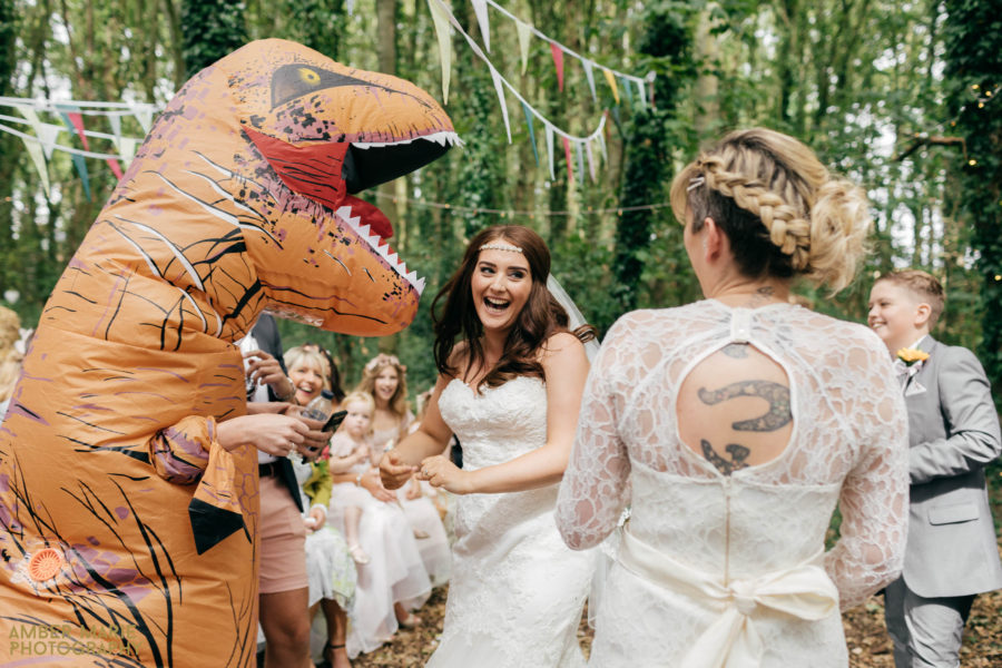 Kate & Mel's Woodland Wedding
