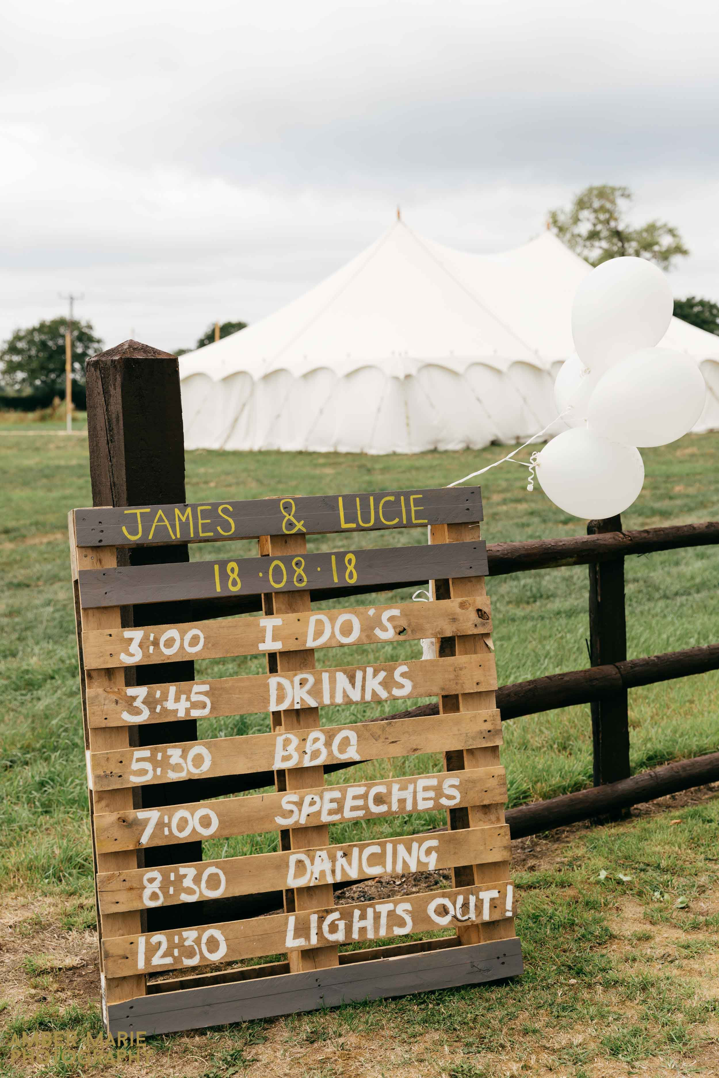 Outdoor Humanist Wedding Cotswolds