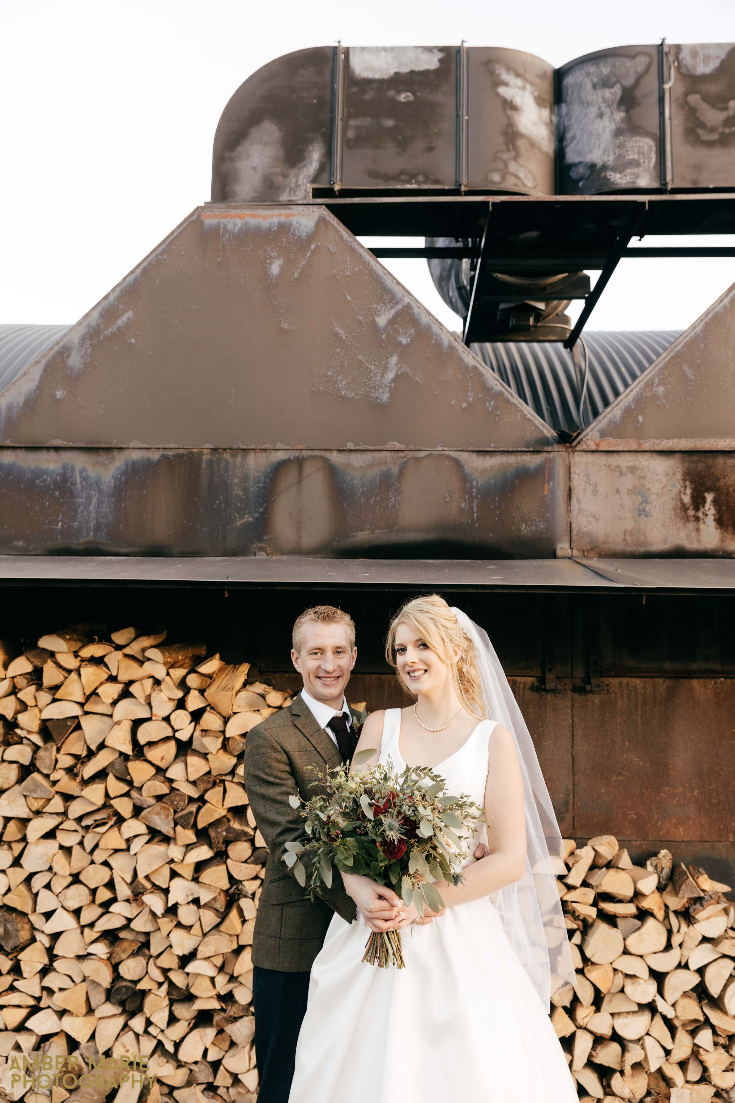 autumn wedding at stone barn by creative wedding photographer gloucestershire
