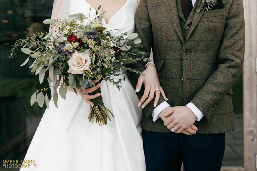 Laura & Stuart's Autumn Stone Barn Wedding