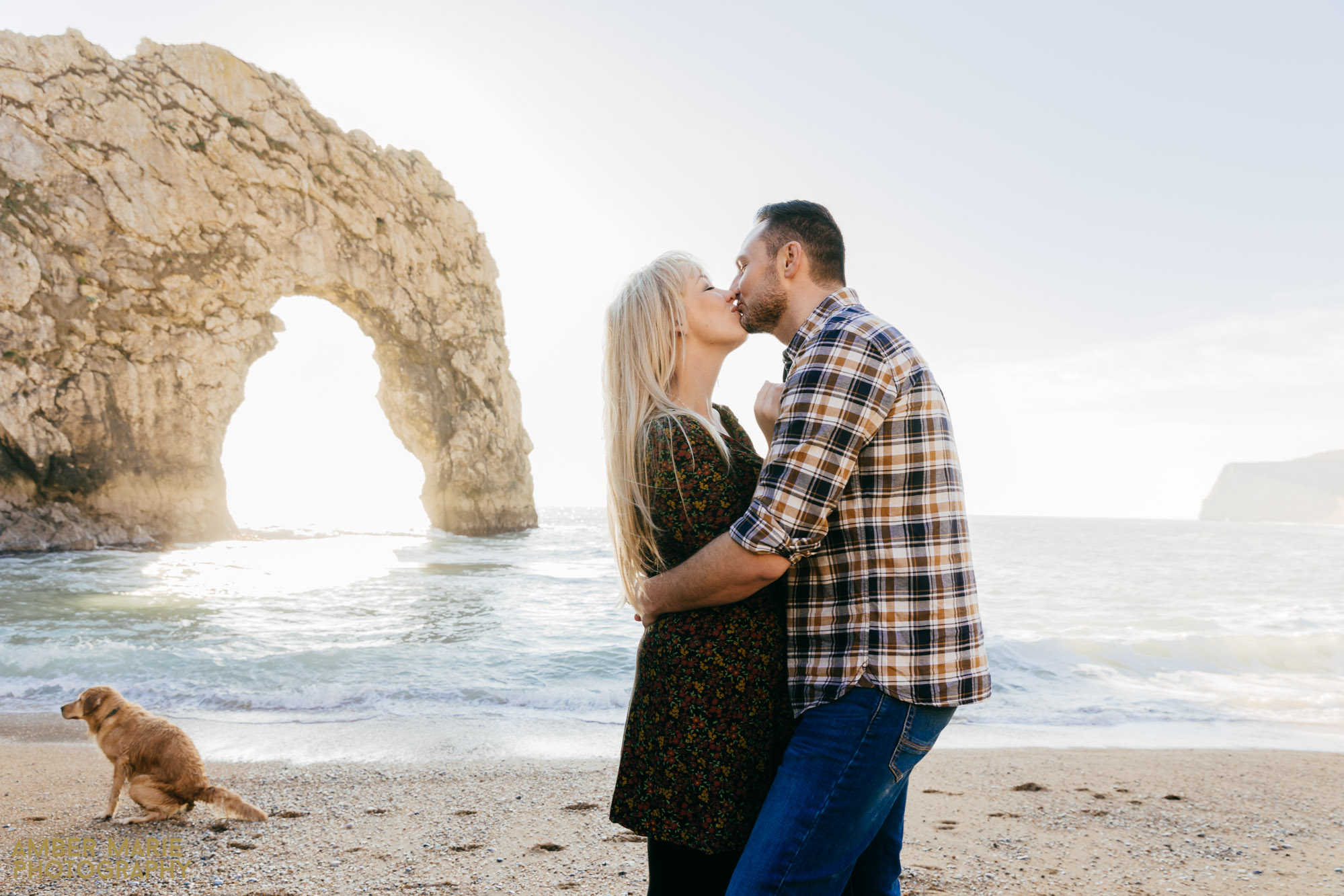 Beach engagement shoot Cotswolds Wedding Photography