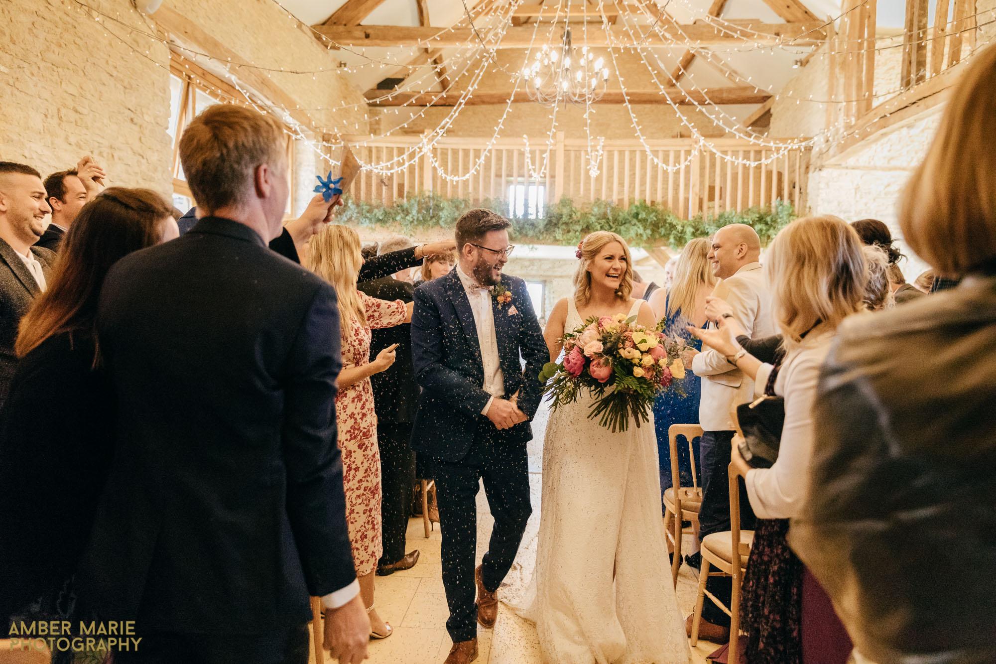 kingscote barn wedding photography