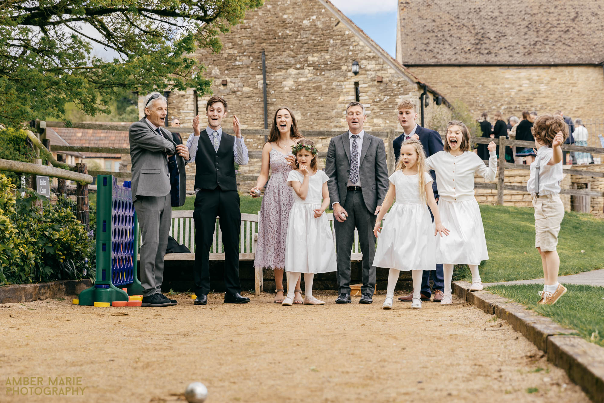 kingscote barn wedding by creative wedding photographer Gloucestershire