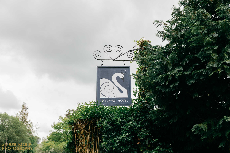 swan hotel cotswolds wedding photographer