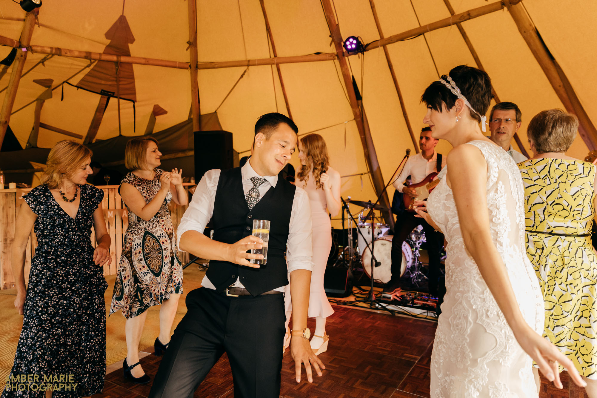 Tipi Wedding Photography by cotswolds wedding photographer