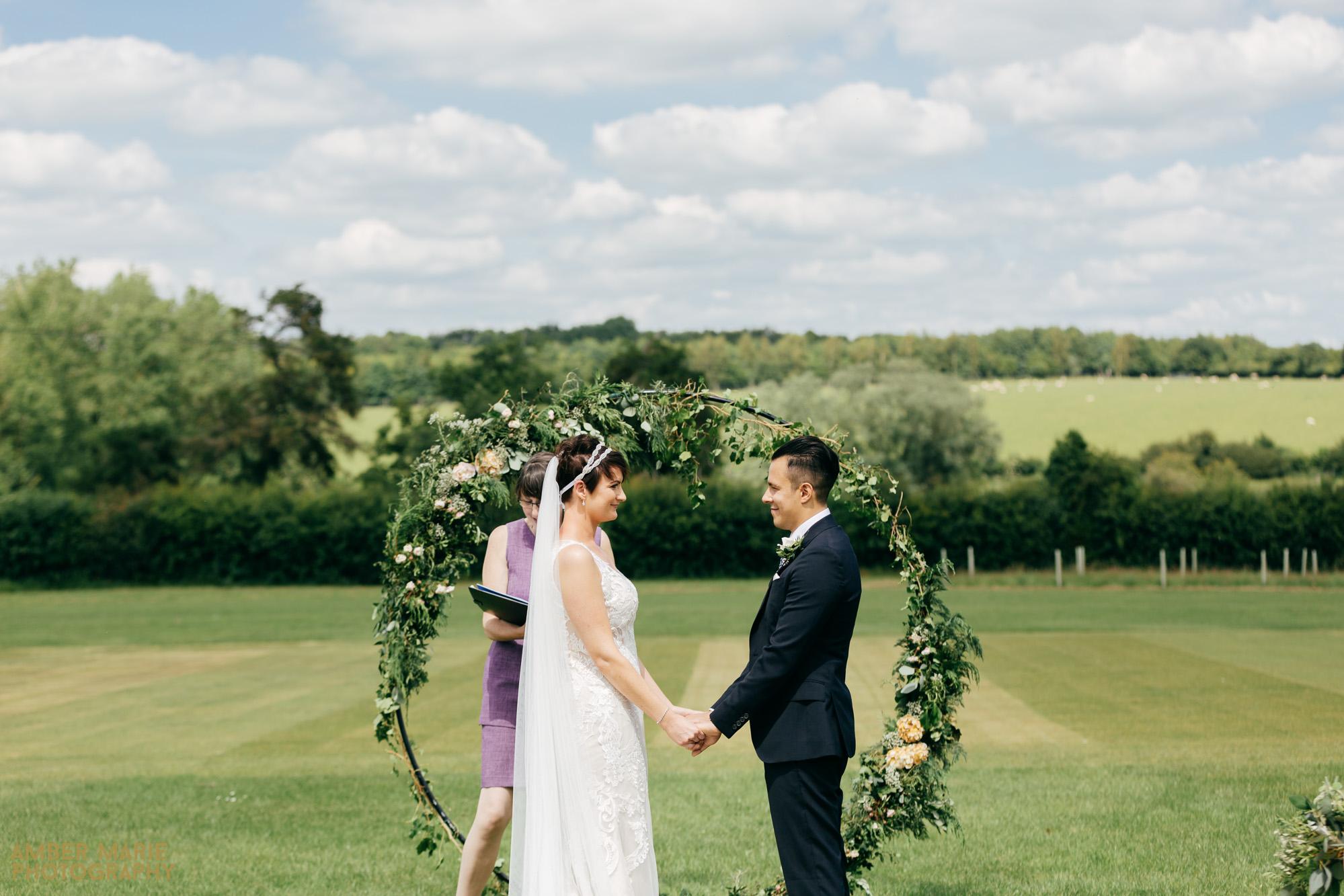outdoor humanist wedding photography