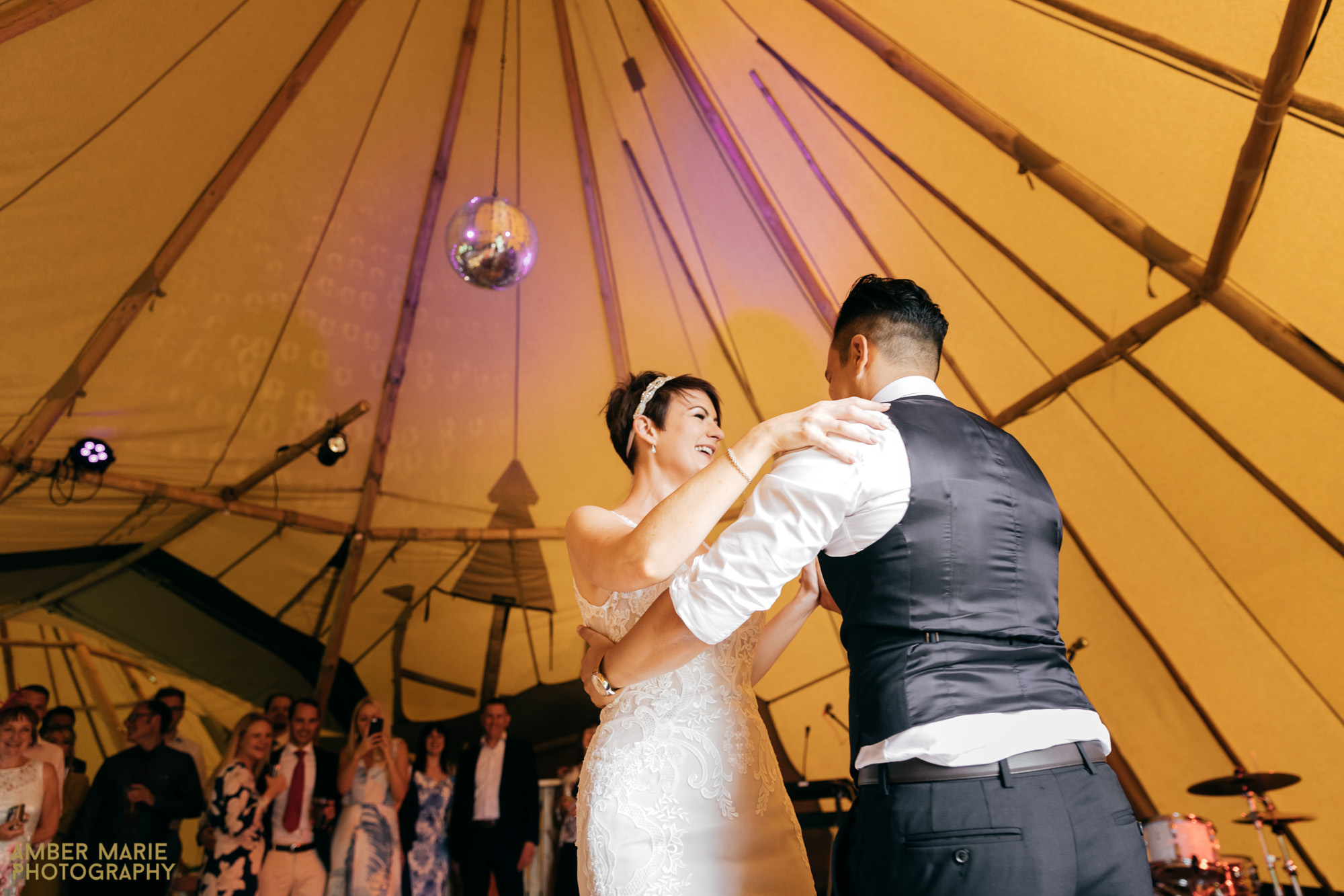 Tipi Wedding Photography by cotswold wedding photography