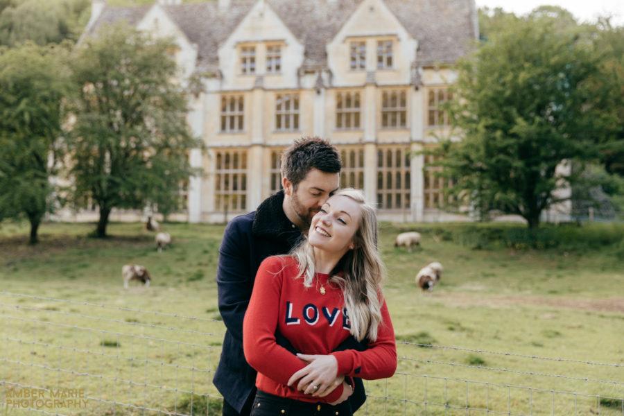 Natalie & Adam's Cotswolds Engagement Photography
