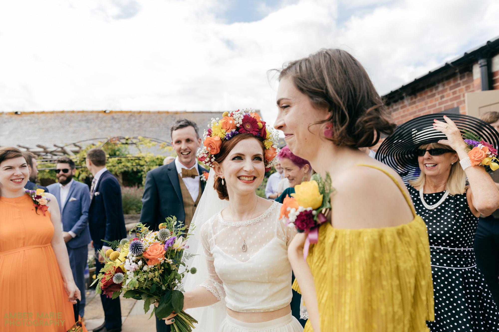 alternative wedding photographer gloucestershire