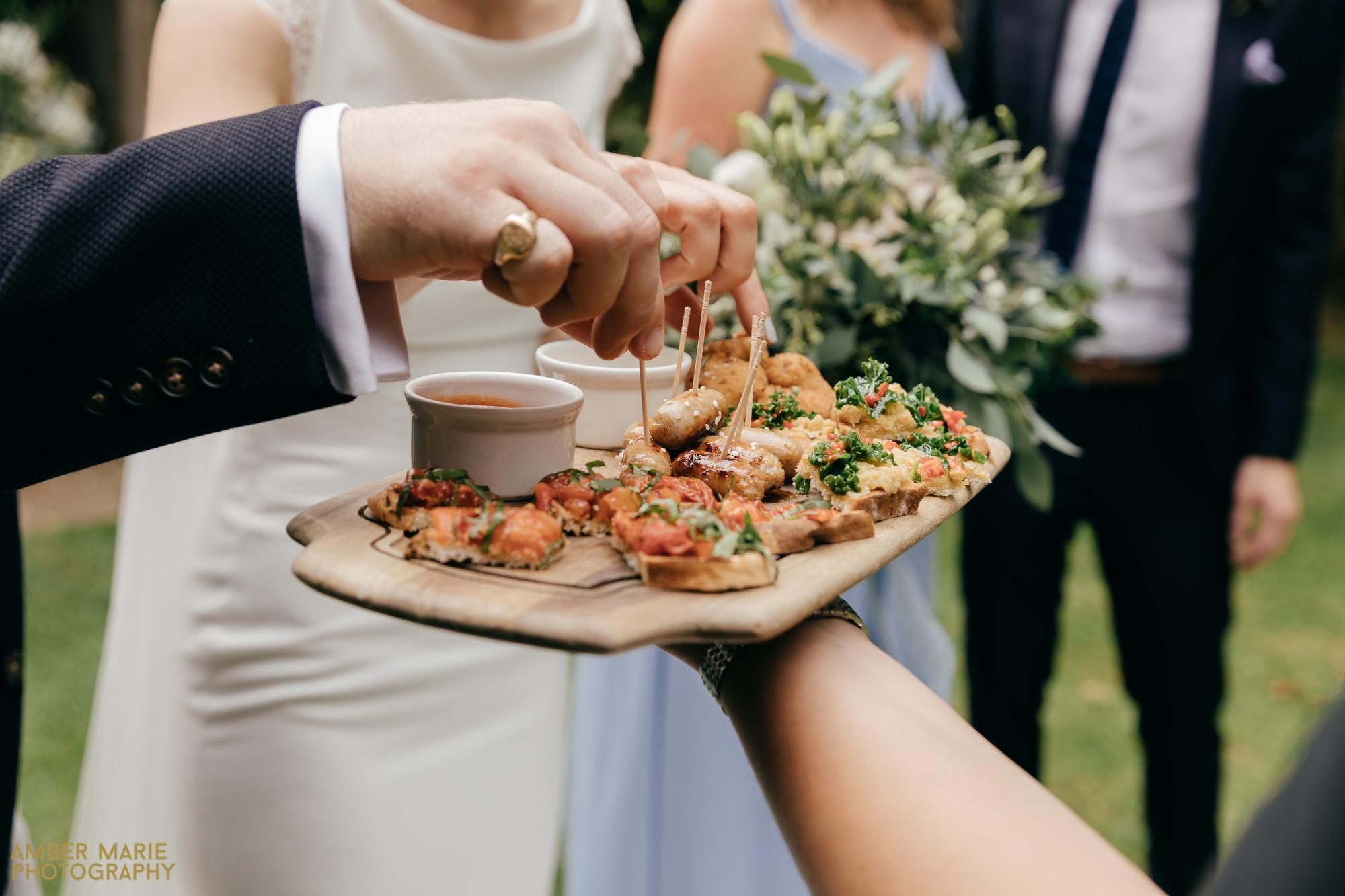 cripps barn wedding food