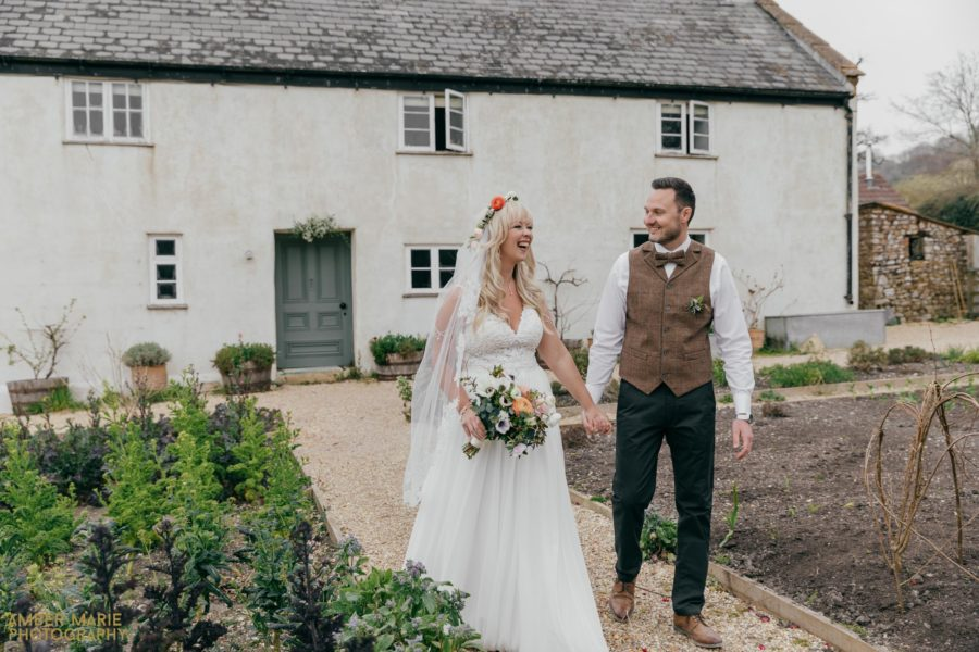 James & Claire's River Cottage Wedding Photographer