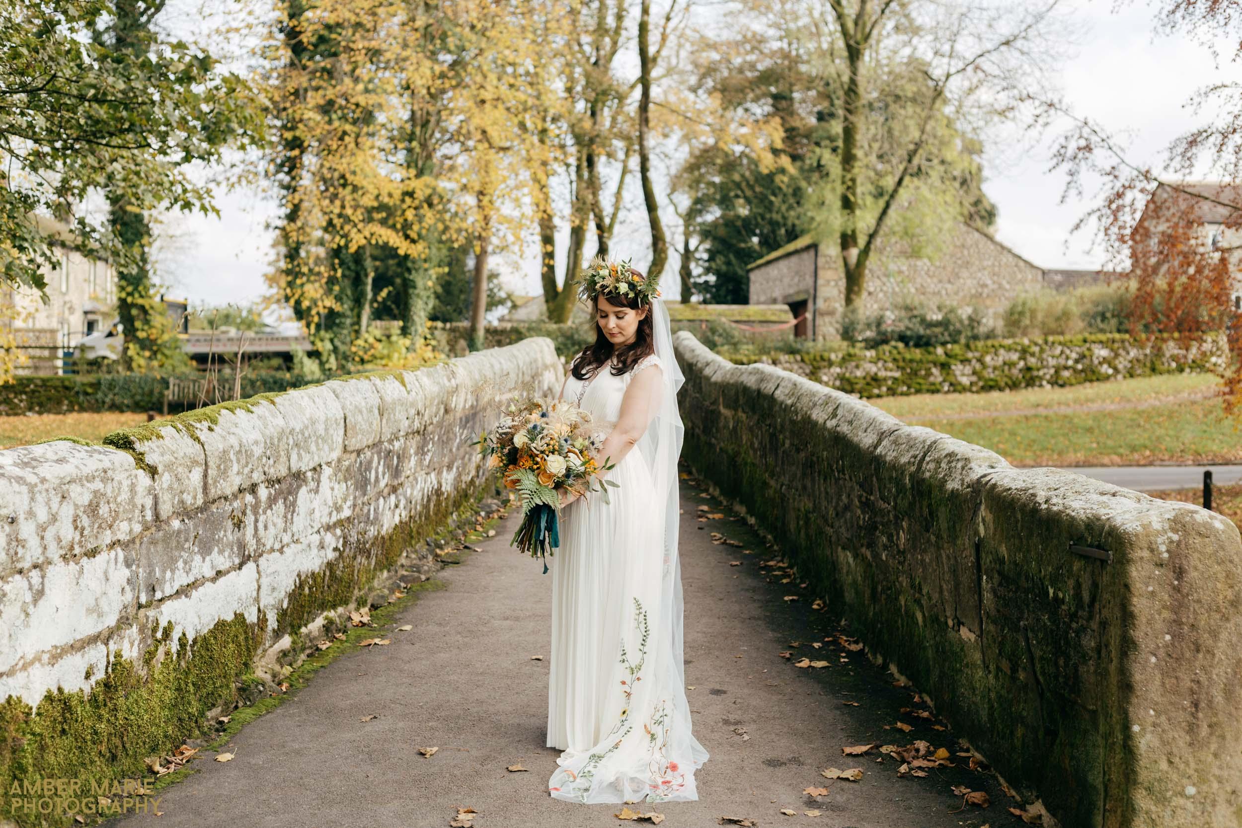 Stylish Halloween Wedding at Cruck Barn