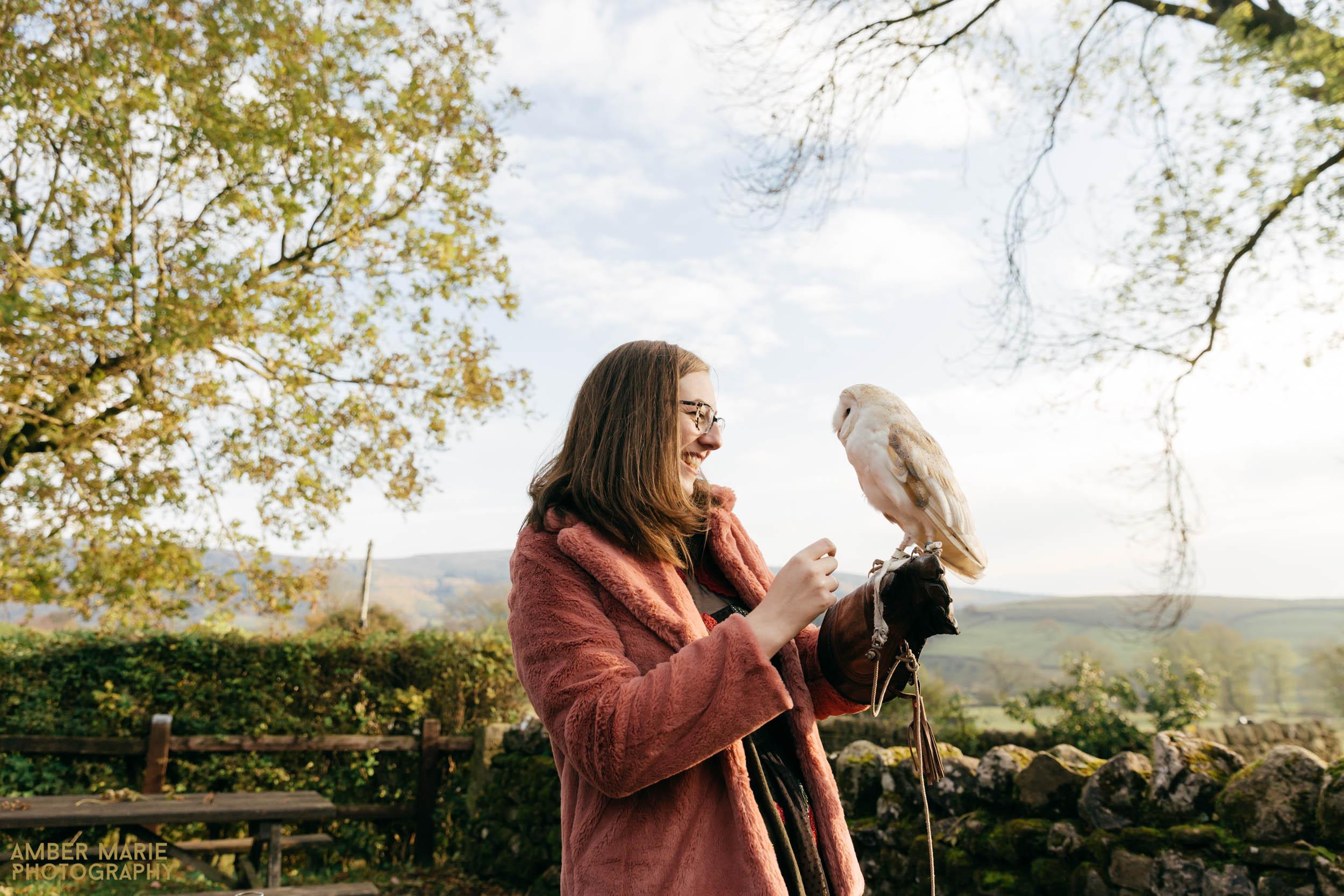 owls at weddings