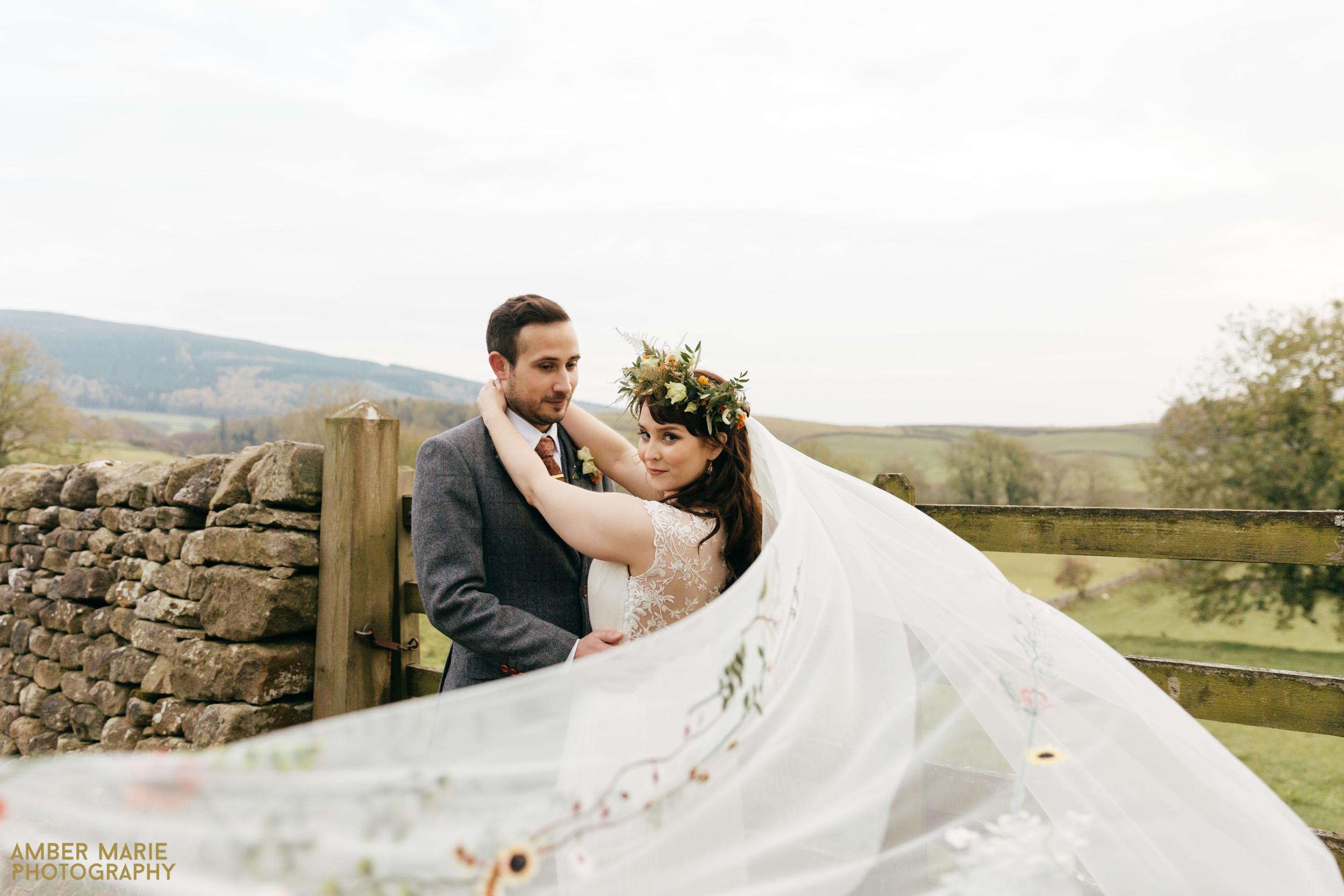 Stylish Halloween Wedding photography