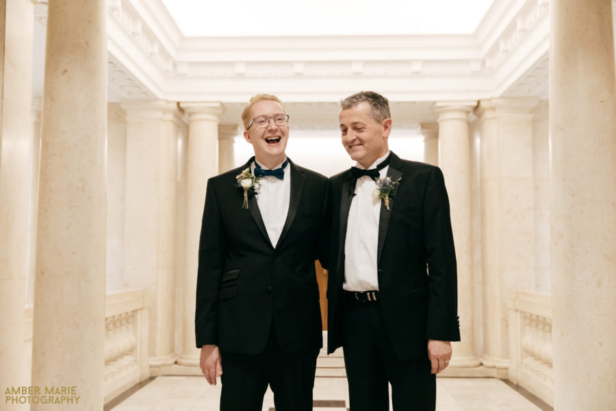 Daniel & Russell – Old Marylebone Town Hall Wedding Photography