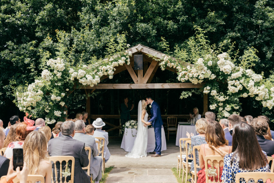 Tess & Ben – Bury Court Barn Wedding