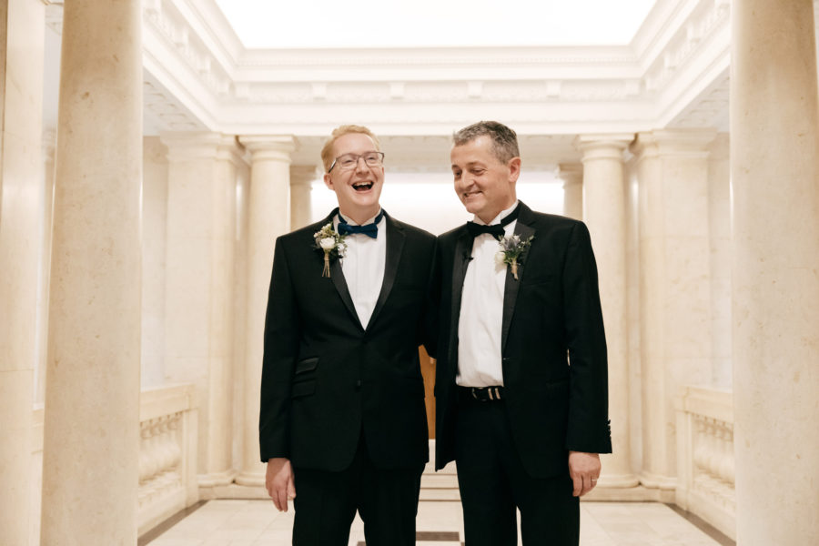 Daniel & Russell – Old Marylebone Town Hall Wedding Photography